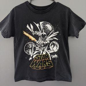 Star Wars black short sleeved t-shirt